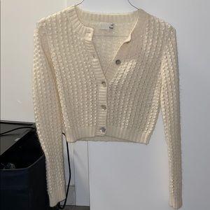 Aritzia wool cardigan XS